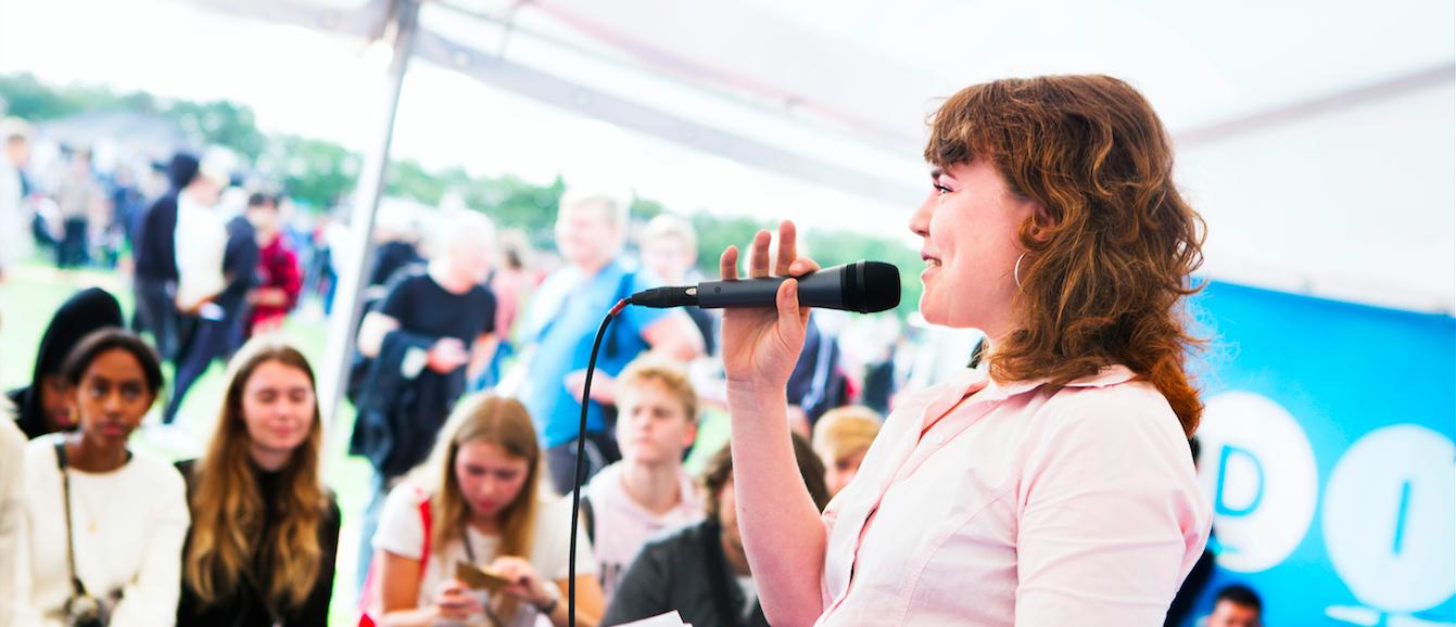 Fra Ungdommens Folkemøde 2018. Foto: Rie Neuchs